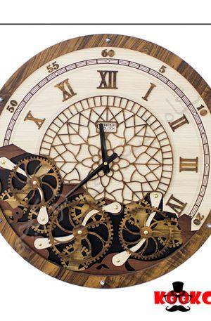 ساعت دیواری چوبی مدل لندن