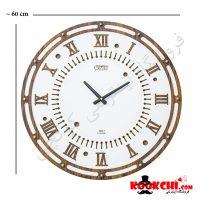 ساعت دیواری چوبی مدل پاریس